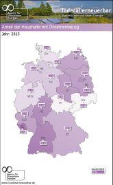 Berliner Haushalte beziehen am meisten Ökostrom