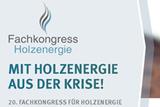 20. Fachkongress für Holzenergie - Holzenergie geht digital!